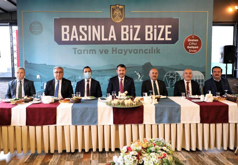 BASINLA BİZ BİZE 'TARIM VE HAYVANCILIK'